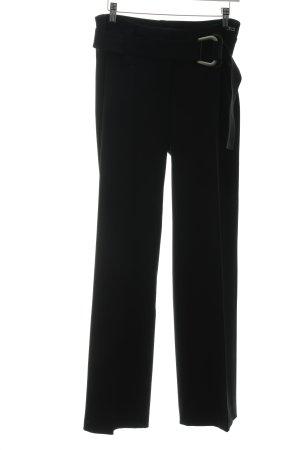 Airfield Pantalone Marlene nero stile stravagante