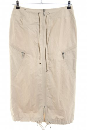 Airfield Maxi rok wolwit casual uitstraling