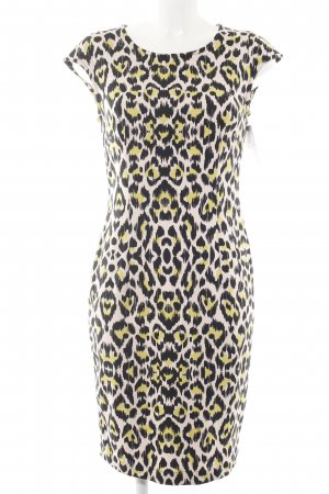 Airfield Midi Dress leopard pattern elegant