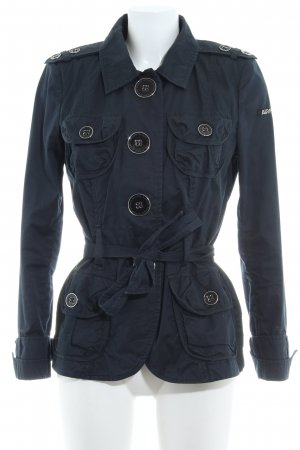 Airfield Military Jacket dark blue navy look