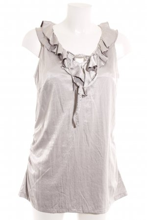 Airfield Mini Dress silver-colored elegant