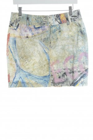 Airfield Miniskirt abstract print extravagant style