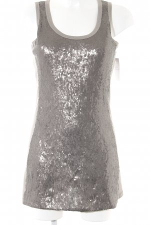 Airfield Sequin Dress grey casual look