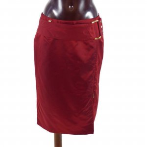 Airfield Pencil Skirt carmine