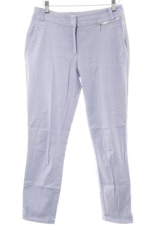 Airfield Pantalone a sigaretta viola stile casual
