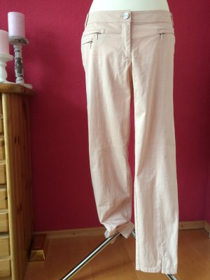 Airfield Low-Rise Trousers light pink-pink cotton