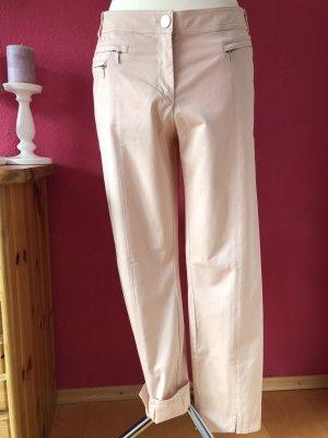 Airfield Pantalone a vita bassa rosa-rosa chiaro Cotone