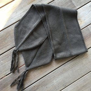 Airfield Knitted Scarf khaki