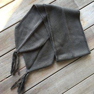 Airfield Écharpe en tricot kaki
