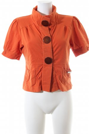 Airfield Shirtjack licht Oranje casual uitstraling