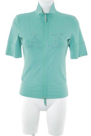 Airfield Shirt Jacket green wet-look