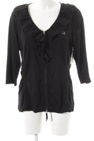 Airfield Veste chemise noir-argenté élégant