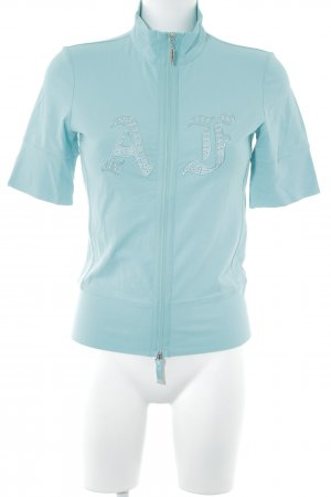 Airfield Shirt Jacket turquoise wet-look