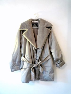 Airfield Winter Jacket silver-colored-light grey viscose