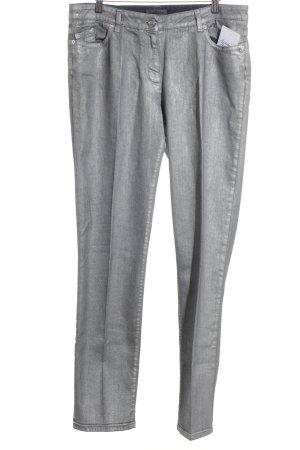 Airfield Slim Jeans silberfarben Casual-Look