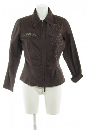 Airfield Softshell Jacket dark brown casual look