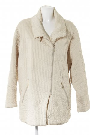 Airfield Quilted Jacket cream-gold-colored quilting pattern elegant