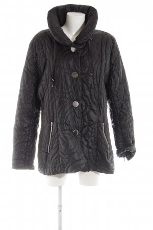 Airfield Steppjacke schwarz Steppmuster Casual-Look