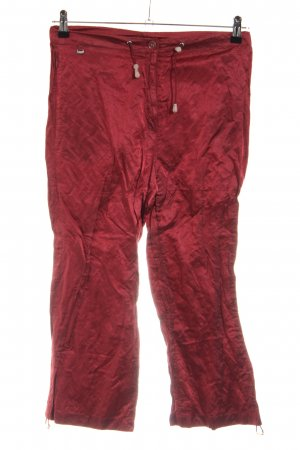 Airfield Jersey Pants red casual look