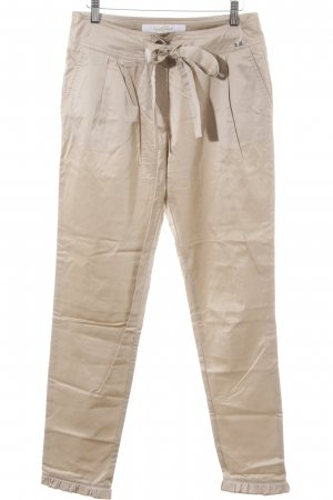 Airfield Pantalone jersey color cammello elegante