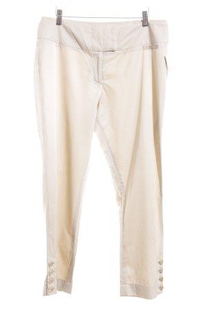Airfield Pantalone jersey crema elegante
