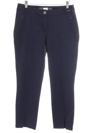 Airfield Pantalone jersey blu scuro stile professionale