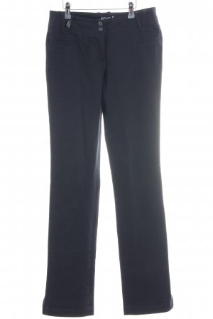 Airfield Pantalone jersey blu scuro stile casual