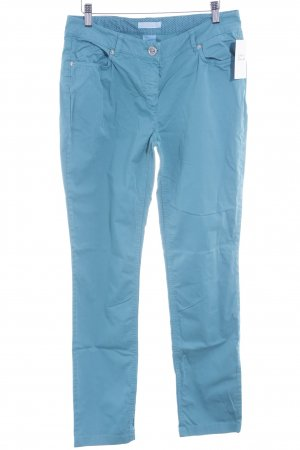 Airfield Jersey Pants light blue casual look