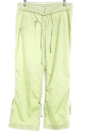 Airfield Stoffhose hellgrün sportlicher Stil