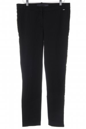 Airfield Jersey Pants black-gold-colored striped pattern casual look