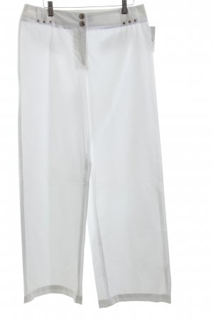 Airfield Jersey Pants white casual look