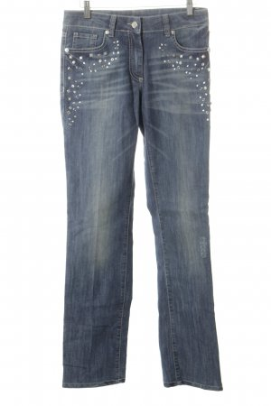 Airfield Straight-Leg Jeans blau Casual-Look