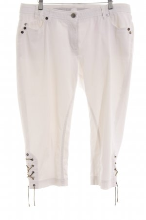 Airfield Straight Leg Jeans white simple style