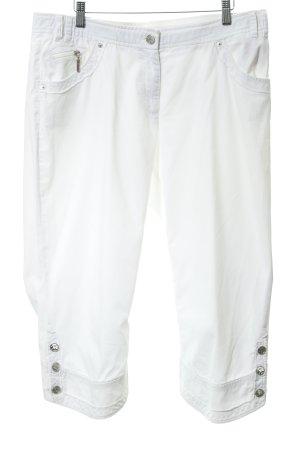 Airfield Straight-Leg Jeans weiß schlichter Stil