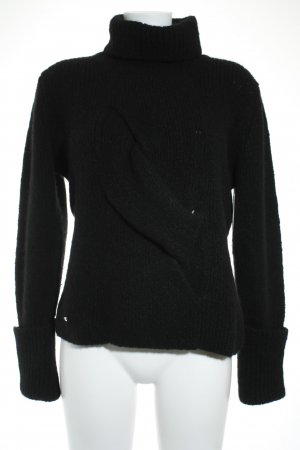Airfield Strickpullover schwarz Casual-Look