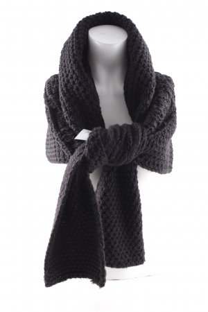 Airfield Knitted Scarf black casual look