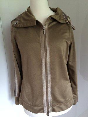 Airfield Sweater khaki mit Pailletten