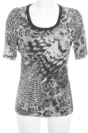 Airfield T-Shirt Allover-Druck Animal-Look