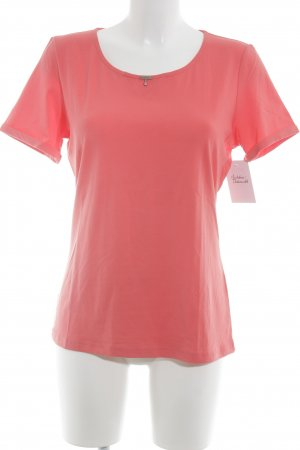 Airfield T-Shirt bright red elegant