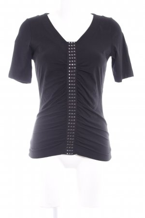 Airfield T-Shirt schwarz Casual-Look