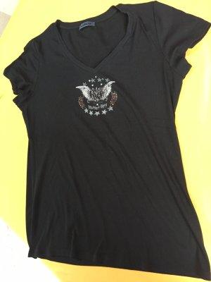 Airfield, T-Shirt, schwarz Größe 44