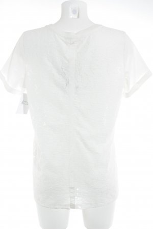 Airfield Camiseta blanco puro look casual