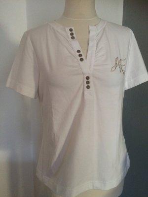 Airfield T-shirt bianco sporco