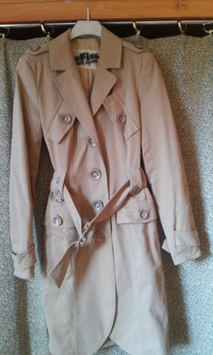 Airfield Trenchcoat beige fibre textile