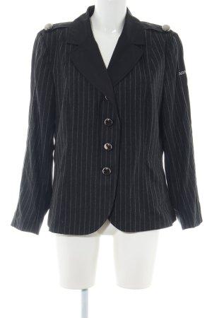 Airfield Between-Seasons Jacket black-light grey striped pattern business style