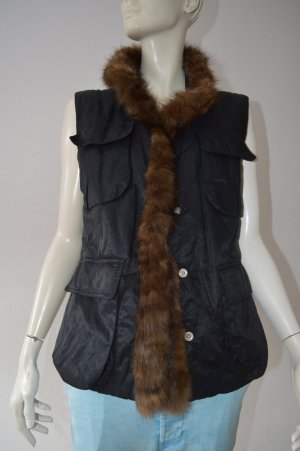 Airfield Down Vest black cotton