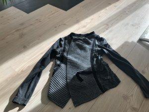 Airfield Scaldacuore in maglia nero-grigio