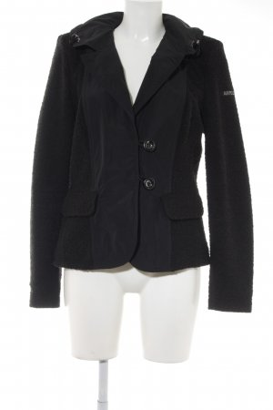 "Airfield Wool Blazer ""Beverly-Blazer"" black"