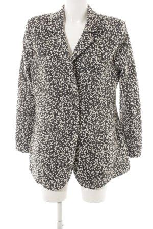 Airfield Wollen blazer grijs-wolwit Patroon-mengeling elegant