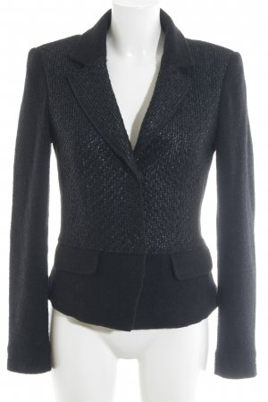 Airfield Wool Blazer black-anthracite simple style